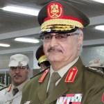 Libyan war lord Khalifa Haftar