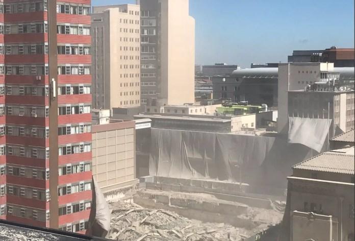 Lisbon building demolished