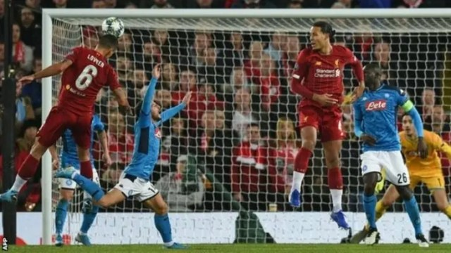 Liverpool 1 - 1 Napoli