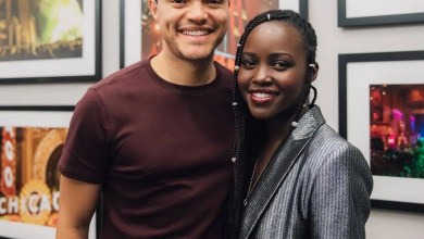 Photo of Actress Lupita Nyong'o gushes over Trevor Noah – He makes me laugh on and off stage