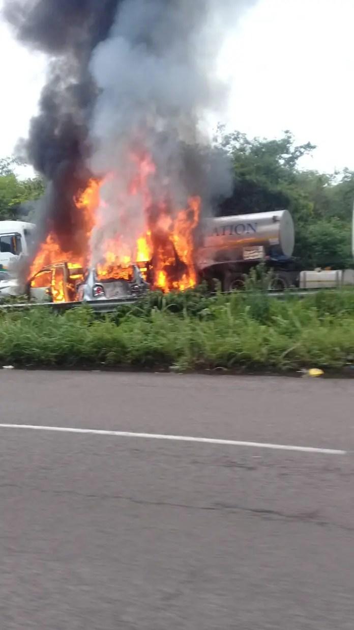 Major crash on M7 Durban