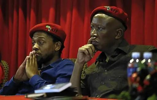 Malema and Ndlozi