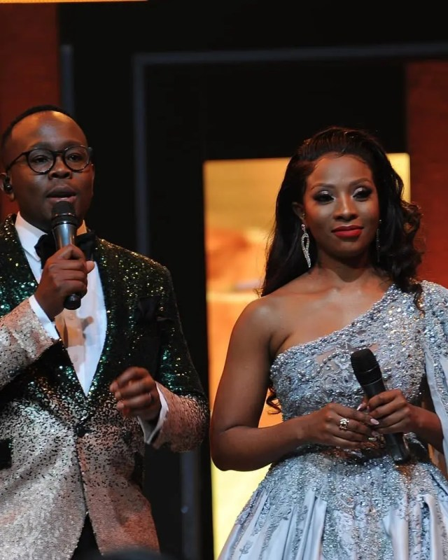 Pearl Modiadie and Khaya Mthethwa