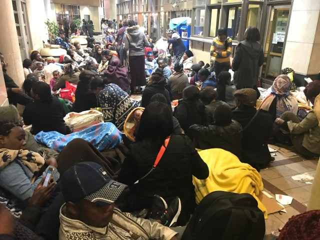 Refugees to leave Cape Town