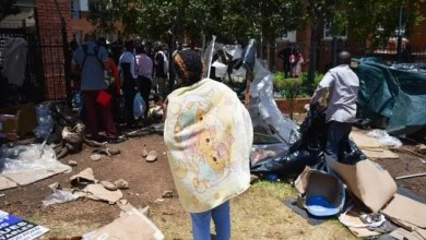 Photo of Home Affairs committee chairperson Bongani Bongo condemns violence by refugees