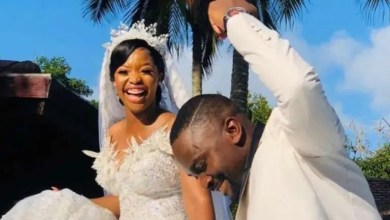 Photo of Inside Sam Mshengu and his wife, Lerato Legodi's secret Wedding – Pictures
