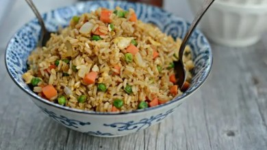 Photo of Spicy vegetarian egg fried rice – Recipe
