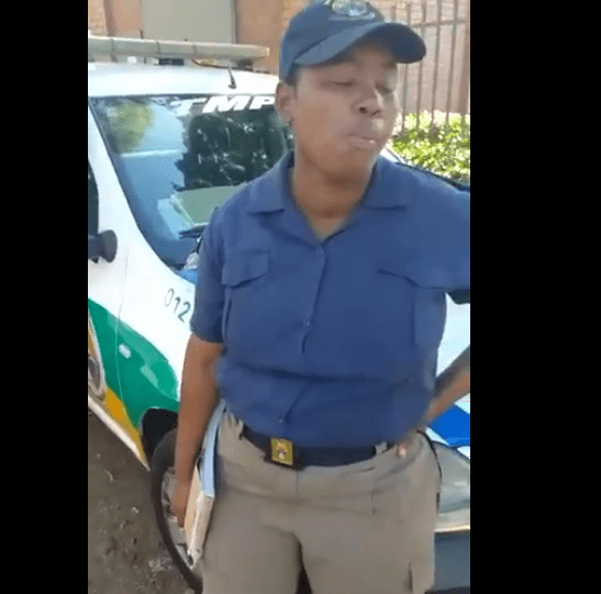 Traffic Cops Caught Red Handed