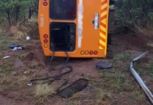 Two dead multiple injured in bus crash