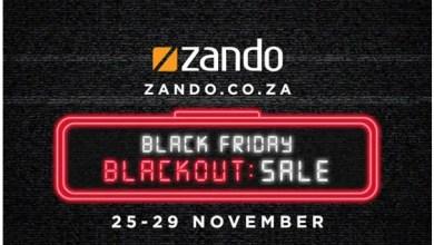 Zando Black Friday Deals