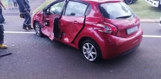 car vs bike crash