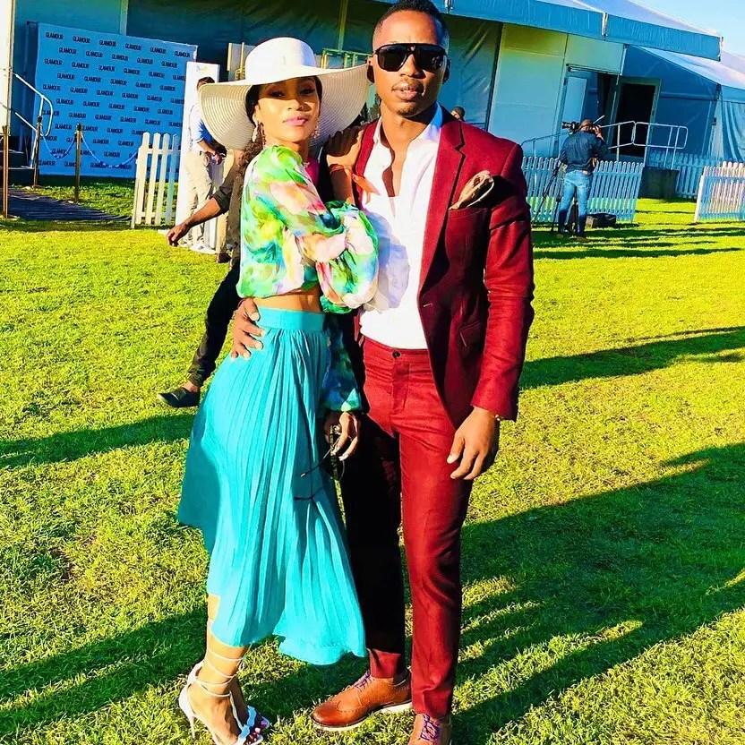 Andile Ncube and Sebabatso