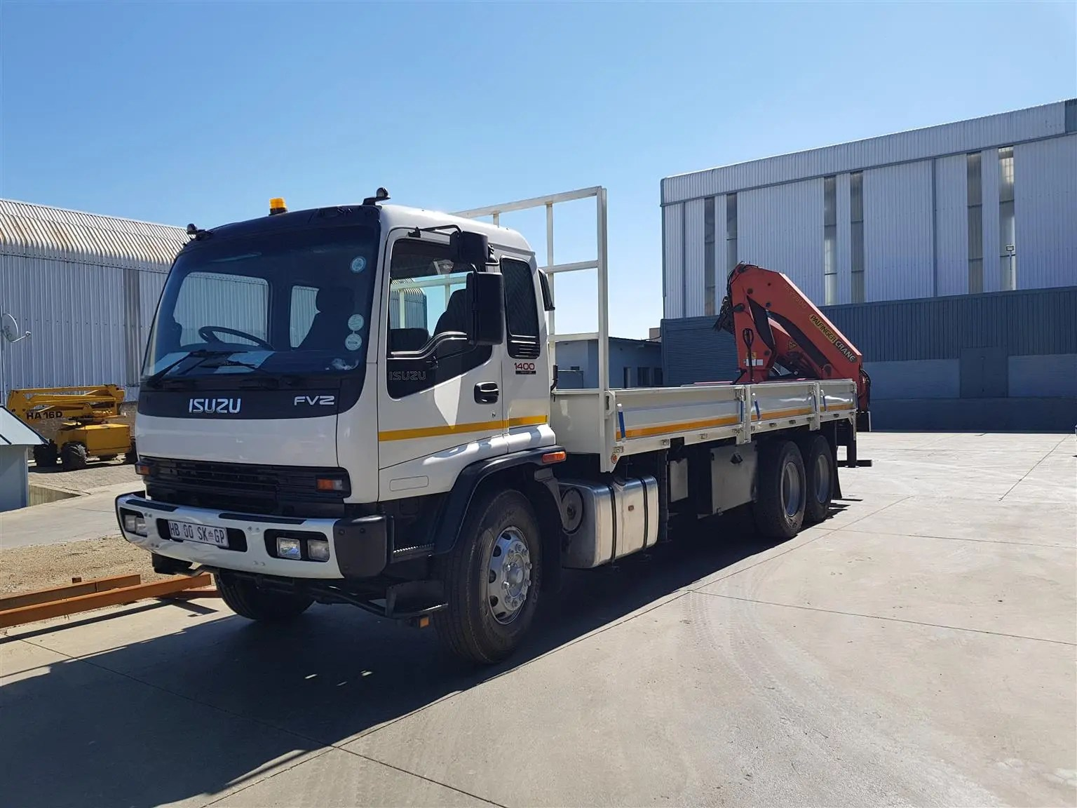 Driver for Truck with Crane