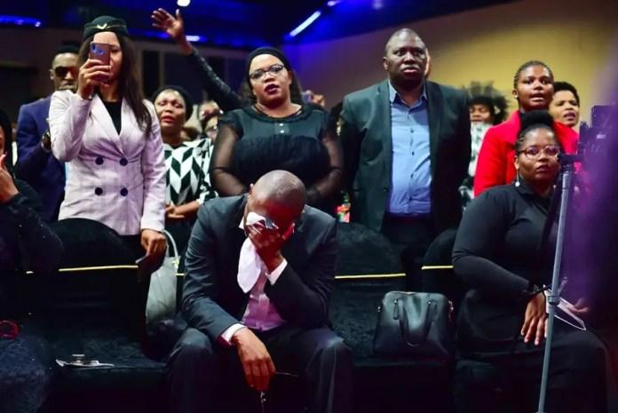 Pastor Neyi Zimu's memorial service