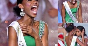 Miss Nigeria Nyekachi Douglas