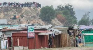 Siqalo informal settlement in Philippi