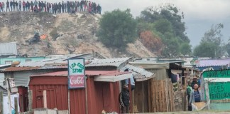 Siqalo informal settlement in Philippi
