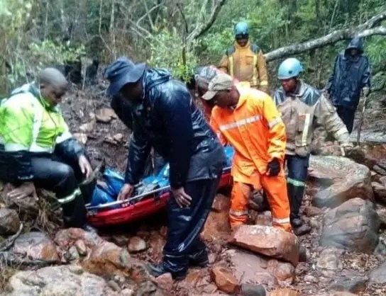 Traditional healer rescued