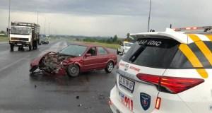 Two injured in Vanderbijlpark crash