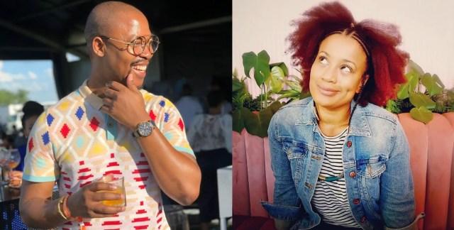 Vuyo Ngcukana and Renate Stuurman