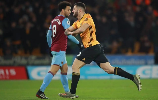 Wolves 2 - 0 West Ham