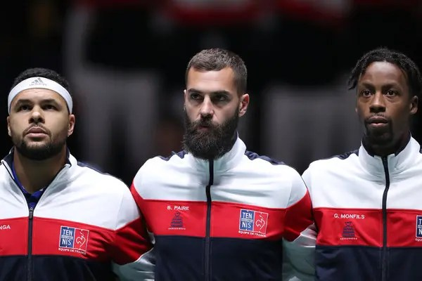 Benoit Paire and Gael Monfils