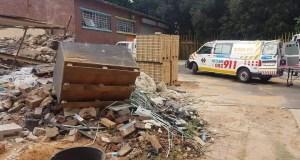 Benoni building collapse