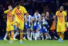Espanyol 2-2 Barcelona