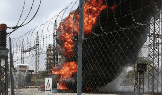 Kempton Park substation fire contained