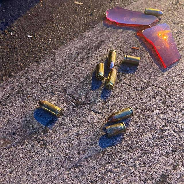 Malope le Roux survives hail of bullets