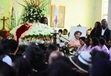 Mantwa Khoza's funeral service