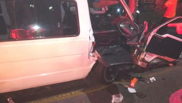 Parktown taxi crash