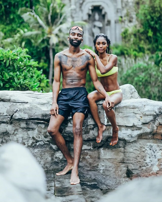 Riky Rick and his family