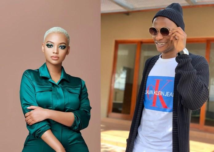 Thembinkosi Lorch charms Mihlali Ndamase