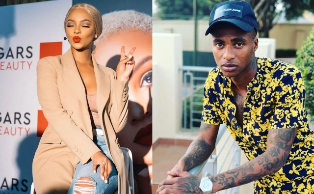 Thembinkosi Lorch charms Mihlali Ndamase