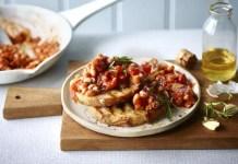 Tuscan beans on sourdough toast