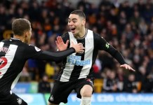 Wolves 1-1 Newcastle