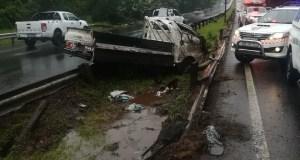 Fourteen injured in rollover