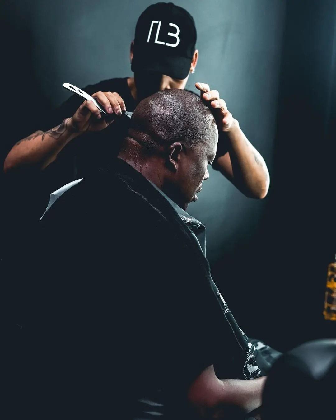 Mampintsha 1 - Babes Wodumo Strikes A New Hairstyle