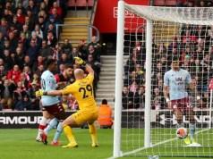 Southampton 2 - 0 Aston Villa