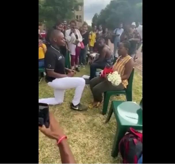 Wedding Proposal Goes Wrong