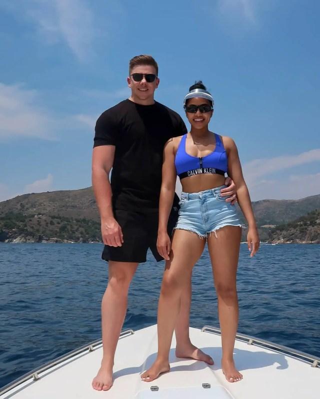 Amanda du Pont and Shawn
