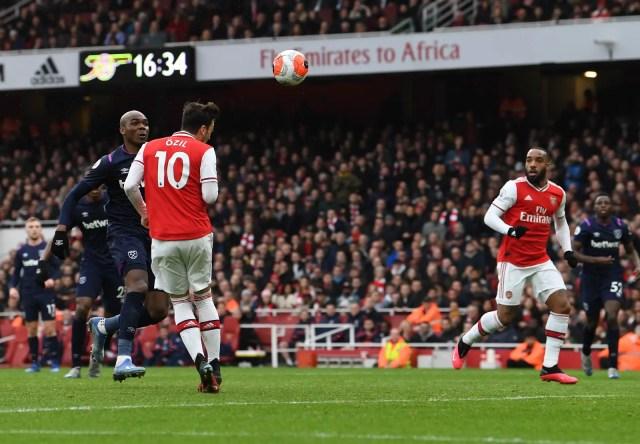 Arsenal 1 - 0 West Ham