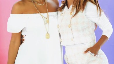 Ayanda Thabethe and Khanya Mkangisa