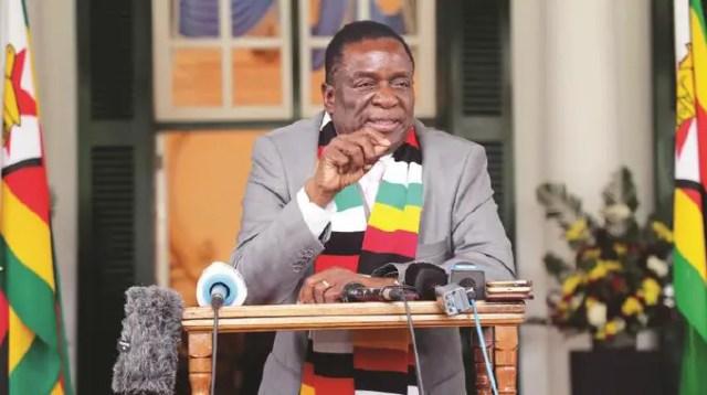 ED-Mnangagwa