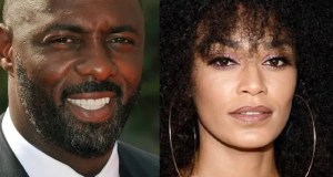 Idris Elba and pearl Thusi