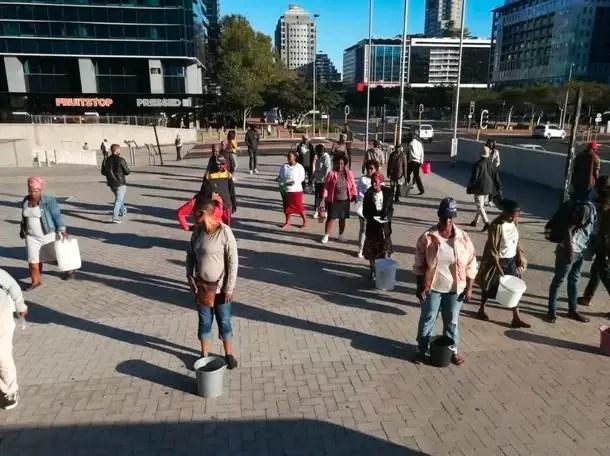 Khayelitsha residents