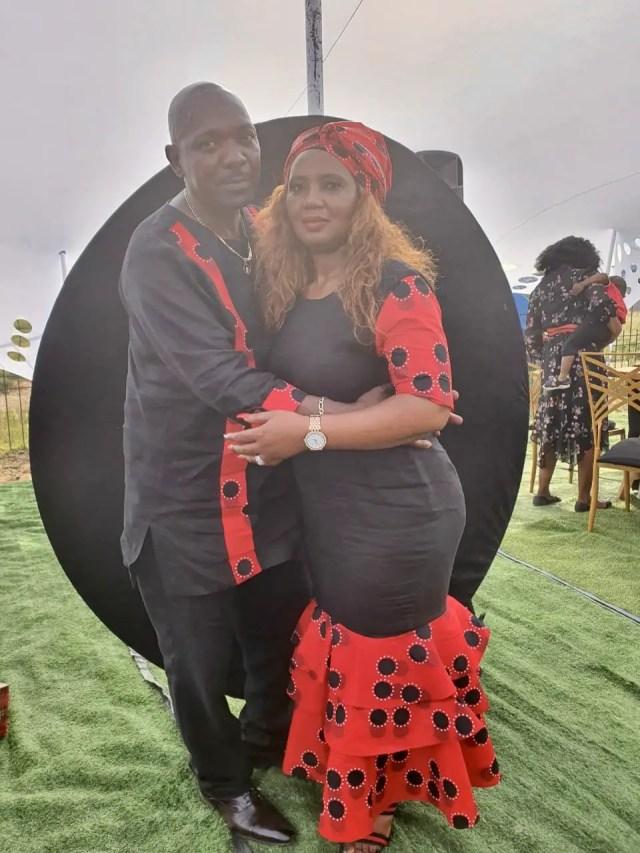 Menzi Ngubane and his dad