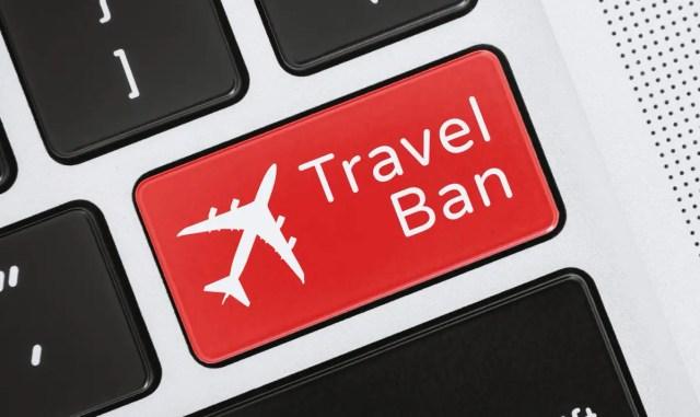 Nigeria issues travel ban