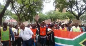 One SA Movement marches